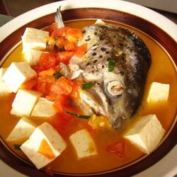 三文鱼头豆腐汤的做法[图]