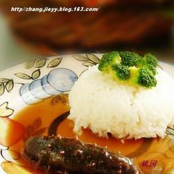 鲍汁海参捞饭的做法[图]