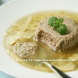 竹笋肝膏汤的做法[图]