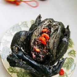 紫米乌鸡饭的做法[图]
