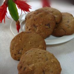 摩卡巧克力核桃甜饼的做法[图]