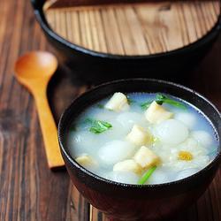 鲜贝冬瓜汤的做法[图]