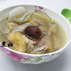 海底椰炖鸡汤的做法[图]