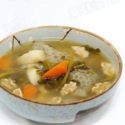 新鲜竹荪裙煲西洋菜山药的做法[图]