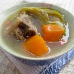 霸王花胡萝猪骨汤的做法[图]