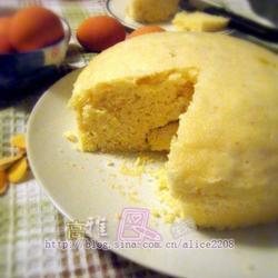 健康中式蒸蛋糕的做法[图]