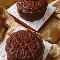 巧克力蓮蓉核桃月餅的做法[圖]