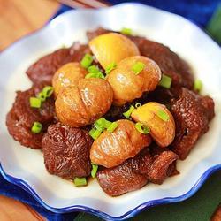 栗子烧牛肉的做法[图]