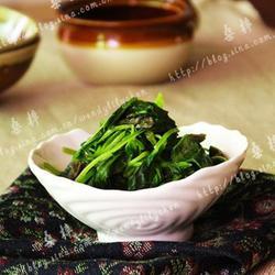 清炒苋菜梗的做法[图]