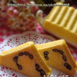 南瓜黑豆小吐司的做法[图]