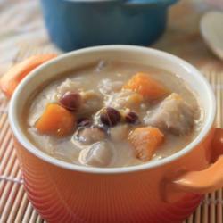 奶香芡实香芋羹的做法[图]