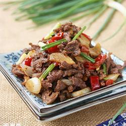 泡椒炒鸭肉的做法[图]