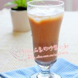 红豆沙玄米冰奶茶的做法[图]