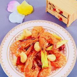 腐乳香辣爆虾的做法[图]