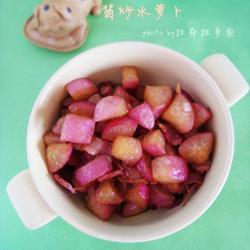 酱炒水萝卜的做法[图]