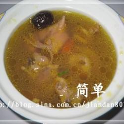 党参鱼翅煲鸡汤的做法[图]