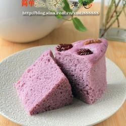 紫薯蒸糕的做法[图]