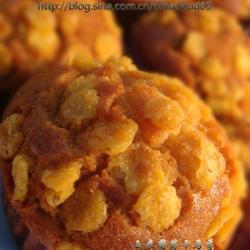 玉米片葡萄干小蛋糕的做法[图]