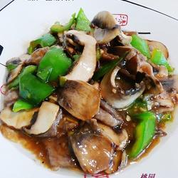 蚝油口蘑滑肉片的做法[图]