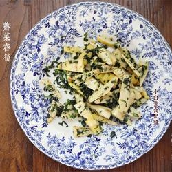 荠菜春笋的做法[图]