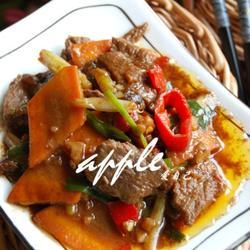 红萝卜的功效与作用_牛肉的做法_牛肉的做法大全_牛肉怎么做好吃_【香哈网】