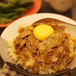 大葱豚肉丼的做法[图]