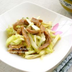 韭黄炒鸭肉的做法[图]