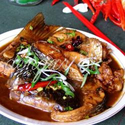 豆瓣醬燒梭魚的做法[圖]
