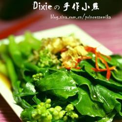 柴鱼酥烫菜花的做法[图]