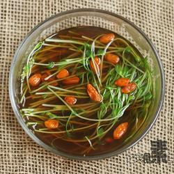 菌汤豌豆苗的做法[图]