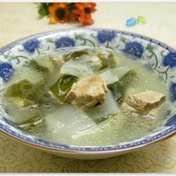 冬瓜排骨海带汤的做法[图]