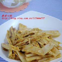 蝦籽燒腐竹的做法[圖]