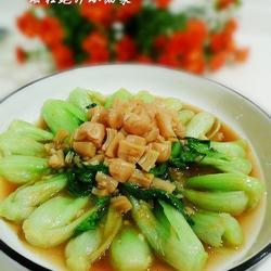 瑶柱鲍汁小油菜的做法[图]