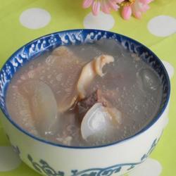 粉葛螺肉海底椰猪骨汤的做法[图]