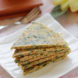 海藻胡萝卜豆渣饼的做法[图]