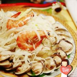萝卜丝烧蛤蜊的做法[图]