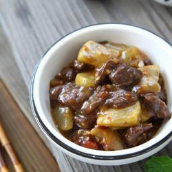 葫芦瓜酸辣炒牛肉的做法[图]