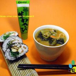 秋葵味增汤的做法[图]