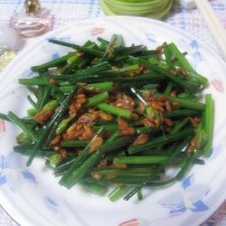 虾米韭菜花的做法[图]