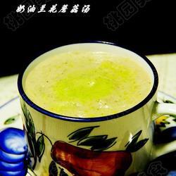 兰花奶油蘑菇汤的做法[图]