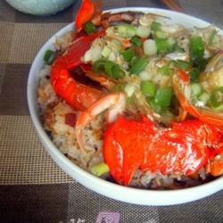 腊味糯米饭蟹煲的做法[图]