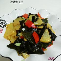 海带烧土豆的做法[图]