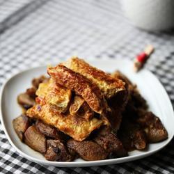 豆腐皮蟹肉卷的做法[图]