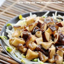 鸟窝芡汁香菇丁的做法[图]
