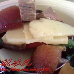 慈菇炖腊肉的做法[图]