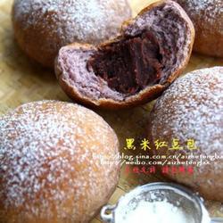 黑米红豆包的做法[图]