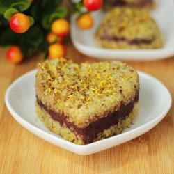 桂花豆沙小米糕的做法[图]