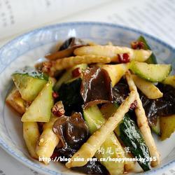凉拌竹笋黄瓜的做法[图]