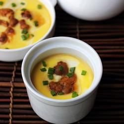 海胆水豆腐蒸蛋的做法[图]