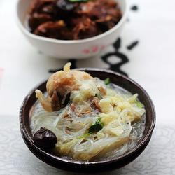 羊骨粉丝汤的做法[图]